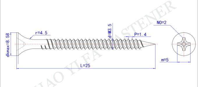 PLASTER BOARD ZINC DRYWALL WAFER HEAD SCREWS SELF DRILLING OR SHARP POINT